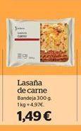 Oferta de Lasaña de carne por 1,49€