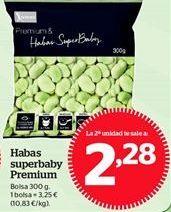 Oferta de Habas baby congeladas por 3,25€
