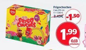 Oferta de Helados Frigo por 1,99€