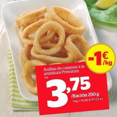 Oferta de Anillas de calamar por 3,75€