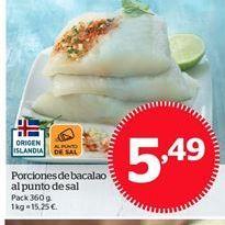 Oferta de Bacalao por 5,49€