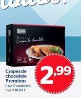 Oferta de Crepes de chocolate por 2,99€