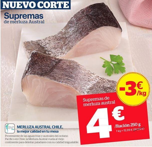 Oferta de Merluza por 15,99€
