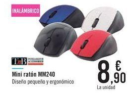 Oferta de Mini ratón MM240 TnB por 8,9€