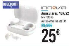 Oferta de Auriculares AUR/22 INNOVA por 25€