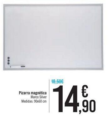 Oferta de Pizarra magnética por 14,9€