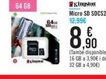Oferta de Micro SD SDCS2 por 8,9€