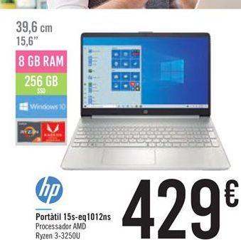 Oferta de Portátil 15s-eq1012ns HP por 429€