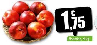 Oferta de Nectarinas por 1,75€
