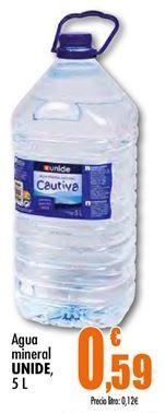 Oferta de Agua Unide por 0,59€