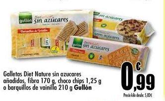Oferta de Galletas diet sin azucar Gullón por 0,99€