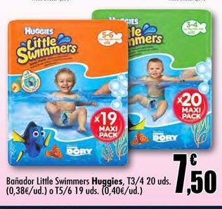 Oferta de Pañal bañador little swimmers por 7,5€