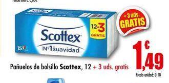 Oferta de Pañuelos de papel Scottex por 1,49€