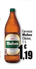 Oferta de Cerveza Mahou por 1,19€