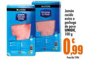 Oferta de Jamón cocido extra Unide por 0,99€