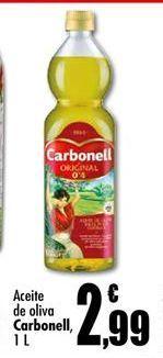 Oferta de Aceite de oliva Carbonell por 2,99€