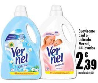 Oferta de Suavizante Vernel por 2,39€