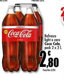 Oferta de Refresco de cola Coca-Cola por 2,8€
