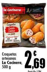 Oferta de Croquetas La Cocinera por 2,69€