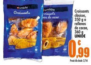 Oferta de Croissants Unide por 0,99€