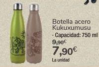 Oferta de Botella acero Kukuxumusu por 7,9€