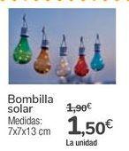Oferta de Bombilla solar  por 1,5€