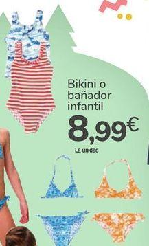 Oferta de Bikini o bañador infantil  por 8,99€
