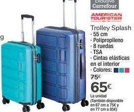 Oferta de Trolley Splash por 65€
