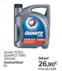 Oferta de Aceite TOTAL QUARTZ 7000 por 26,9€
