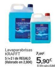 Oferta de Lavaparabrisas KRAFFT por 5,9€