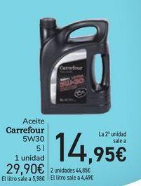Oferta de Aceite Carrefour por 29,9€