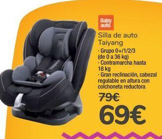 Oferta de Silla de auto Taiyang Baby auto por 69€