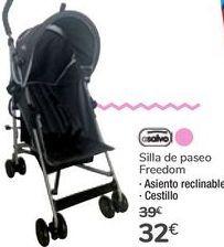 Oferta de Silla de paseo Freedom asalvo por 32€