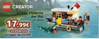 Oferta de Casa Flotante del Río  por 17,99€
