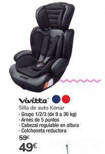 Oferta de Silla de auto Konar Vivitta por 49€