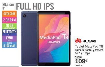 Oferta de Tablet MatePad T8 Huawei por 109€