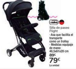 Oferta de Silla de paseo Flight Asalvo por 79€