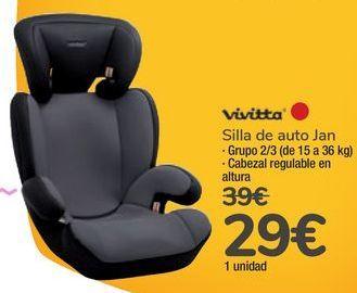 Oferta de Silla de auto Jan Vivitta por 29€