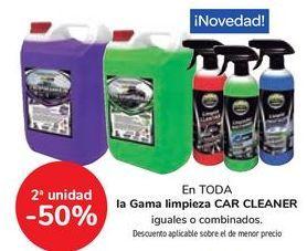 Oferta de En TODA la Gama limpieza CAR CLEANER por