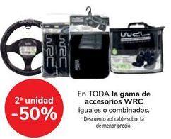 Oferta de En TODA la gama de accesorios WRC por