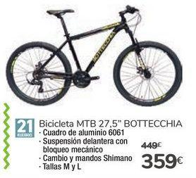 Oferta de Bicicletas MTB 27.5 BOTTECCHIA por 359€