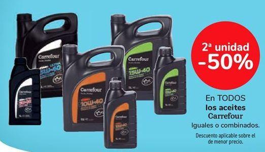 Oferta de En TODOS los aceites Carrefour por