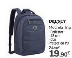 Oferta de Mochila Trip DELSEY por 19,9€