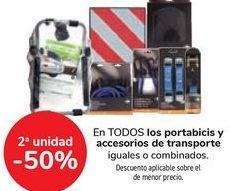 Oferta de En TODOS los portabicis y accesorios de transporte por