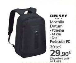 Oferta de Mochila Datum DELSEY por 29,9€