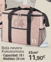 Oferta de Bolsa nevera Kukuxumusu por 11,9€