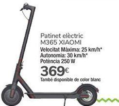 Oferta de Patinete eléctrico M365 XIAOMI por 369€