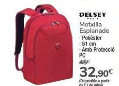 Oferta de Mochila Esplanade DELSEY por 32,9€
