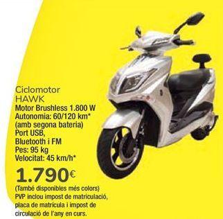 Oferta de Ciclomotor HAWK  por 1790€