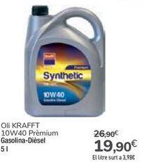 Oferta de Aceite KRAFFT por 19,9€
